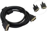 Кабель DVI-D 25M/25M 5м Dual Link VCOM [VDV6300-5M] 2 фильтра позолоченные контакты